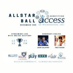 Allstar Ball benefitting Access of Wilmington with online auction