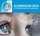 Aluminium 2016 - 11th World Trade Fair & Conference