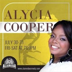 Alycia Cooper at the Alameda Comedy Club