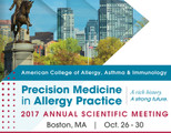 American College of Allergy, Asthma & Immunology Annual Scientific Meeting