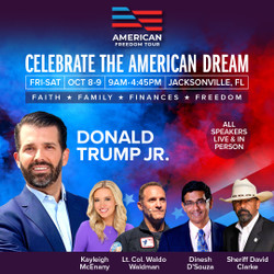 American Freedom Tour Jacksonville with Donald Trump Jr
