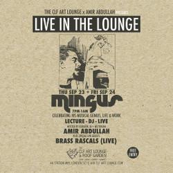 Amir Abdullah - Mingus Lecture, Album Listening and Dj Session + Brass Rascals (Live) - Part 1