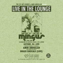 Amir Abdullah - Mingus Lecture, Album Listening and Dj Session + Brass Rascals (Live) - Part 2