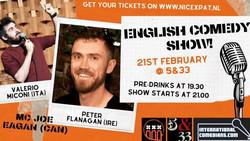 Amsterdam English Comedy Night, Fri, Feb 21