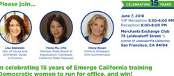 An Evening Celebrating the 15th Anniversary of Emerge California