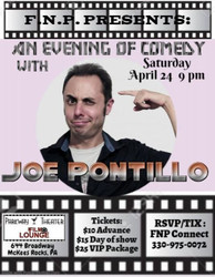 An Evening of Comedy with Joe Pontillo