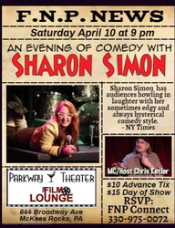 An Evening of Comedy with New York Comedian Sharon Simon