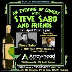 An Evening of Comedy with Steve Sabo and Friends