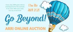 Animal Rescue Rhode Island's Go Beyond! Online Auction