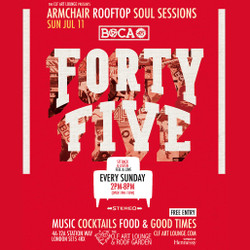 Armchair Rooftop Soul Sessions - Boca 45 In Session