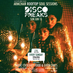 Armchair Rooftop Soul Sessions - Disco Freaks In Session