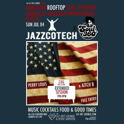 Armchair Rooftop Soul Sessions - Jazzcotech x Soul 360 American Independence Day Special