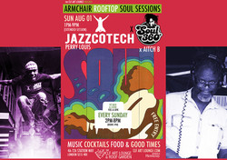 Armchair Rooftop Soul Sessions - Jazzcotech x Soul 360 with DJ's Perry Louis + Aitch B
