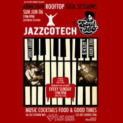 Armchair Rooftop Soul Sessions Jazzcotech x Soul 360 with DJ's Perry Louis + Aitch B