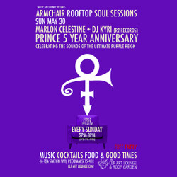 Armchair Rooftop Soul Sessions - Prince 5 Year Anniversary Special with Marlon Celestine + Kyri