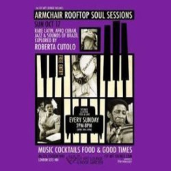 Armchair Rooftop Soul Sessions - Roberta Cutolo In Session