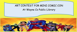 Art Contest For Mini Comic Con