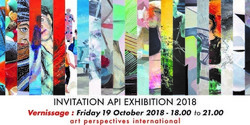 Artists in Brussels Art Perspectives International 2018