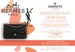 Auckland Vintage Luxury Handbag and Accessories sale! 100% Auth