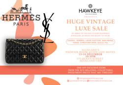 Auckland Vintage Luxury Handbag and Accessories sale! 100% Auth