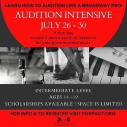 Audition Intensive: A Musical Theatre Audition Workshop