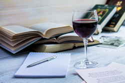 Authors Uncorked: A Wine Tasting Inspired by Famous Writers [October 30]
