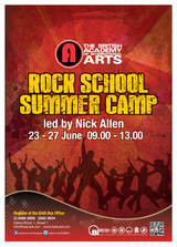 Baia Summer Rock School for children and Young People