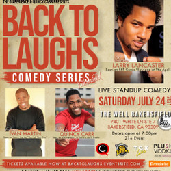 Back To Laughs Comedy Series | Bakersfield Edition