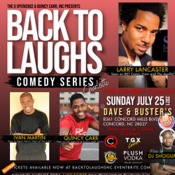 Back To Laughs Comedy Series | Charlotte Edition