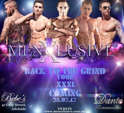 Back To The Grind with MenXclusive and Dante Entertainment