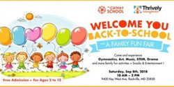 Back to School - Family Fun Fair!