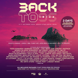 Backto95 Ibiza 2020 Ft Todd Edwards, Ratpack, Heatwave, + More