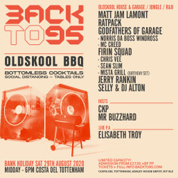 Backto95 Oldskool Bbq