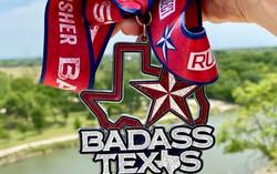 Badass Texas 5k 10k and Half Marathon
