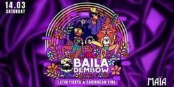 Baila Dembow | Latin Reggaeton in Maïa Amsterdam