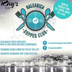 Balearica Supper Club - Every Sunday
