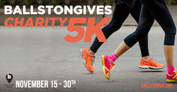 Ballstongives Virtual Charity 5k