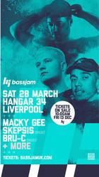 Bassjam Presents: Macky Gee, Skepsis & Bru-C