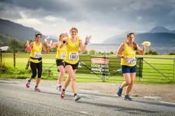 Baxters Loch Ness Marathon, 6 October 2019, Loch Ness, Scotland