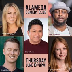 Bay Area Comedy Showcase at the Alameda Comedy Club - Thursday 8pm