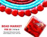 Bead Market Edmonton, Feb 25, 2017