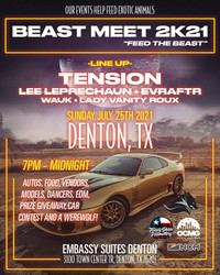 Beast Meet 2k21 Feed the Beast