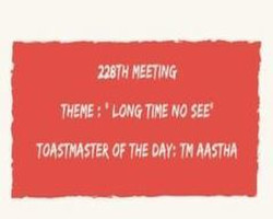 Beyond Key Indore Toastmasters 228th chapter