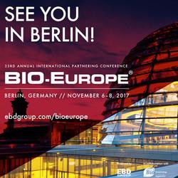 Bio-europe 2017 | November 6-8 in Berlin, Germany