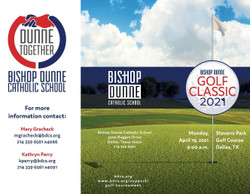 Bishop Dunne Golf Classic