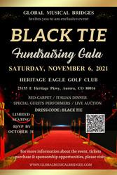 Black Tie Fundraising Gala