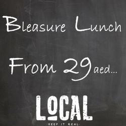 Bleasure Lunch