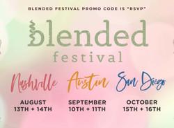 Blended Festival - Promo Code