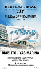 Blue Marlin Ibiza Uae Race Weekend Takeover