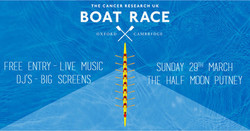 Boat Race Day at The Half Moon Putney - 29 March 2020